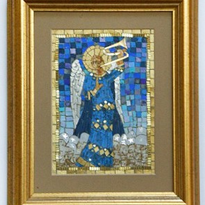 06 Angel of Music - Mosaic (by Rohana Darlington)