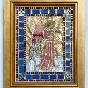 07 Angel of Prayer - Mosaic (by Rohana Darlington)