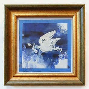 09 Peace Bird - Lino-Print (by Rohana Darlington)