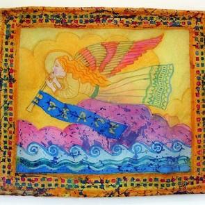 10 Angel of Peace - Silk Hanging (by Rohana Darlington)