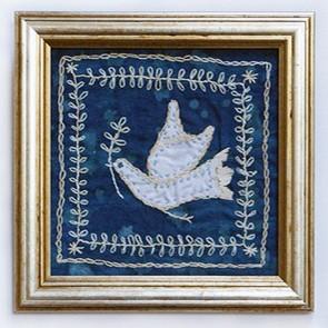 13 Peace Bird - Embroidery (by Rohana Darlington)