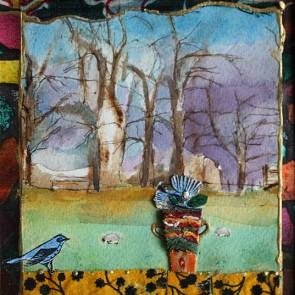 Exit A Dream - collage by Sofiah Garrard