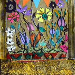 Flower Show - collage by Sofiah Garrard