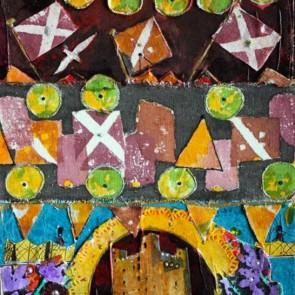 Guard Duty - collage by Sofiah Garrard