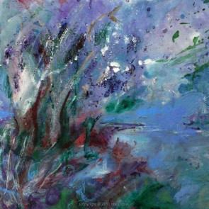 Through Branches by Maia Spall