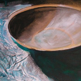Mari's Bowl painting by Gail de Cordova