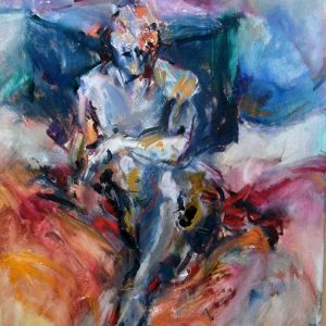 Seated Figure by Maia Spall
