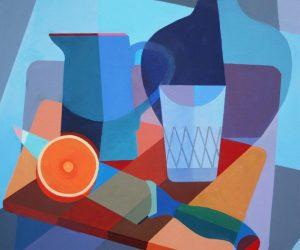 #5 Orange, Glass and Jug