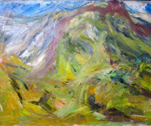 Beinn Eigh (oil on canvas)