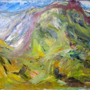 Beinn-Eigh-Oil-on-Canvas-W