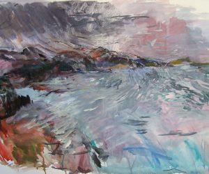 Loch Shieldaig (study in watercolour)