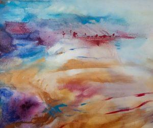 Sea Bay (acrylic on canvas)