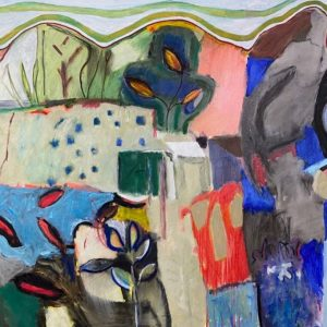 Oil on canvas, unframed, 150x100cm