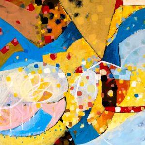 Acrylic on canvas, 70x50cm
