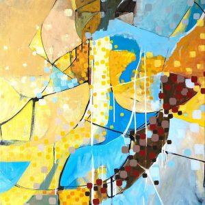 Acrylic on canvas, 80x60cm
