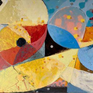 Acrylic on canvas, 50x70cm